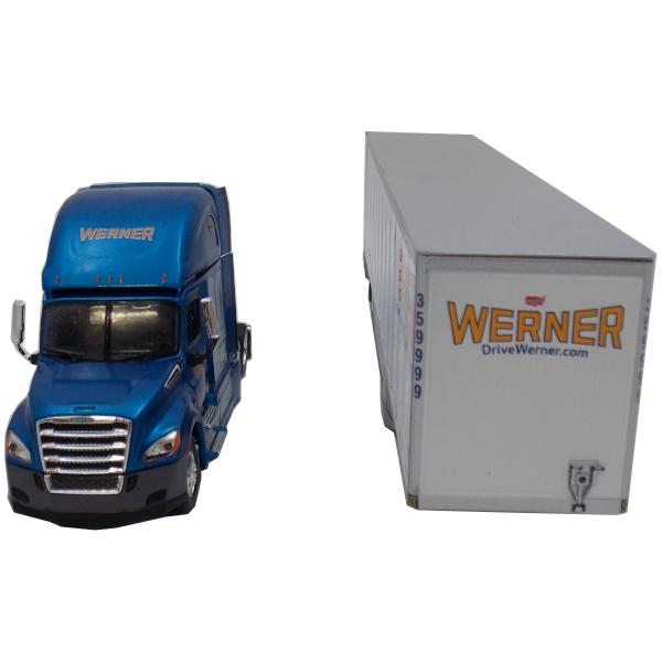 Freightliner Cascadia Dry Van 1:53 Scale Model Truck